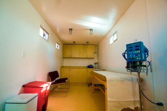 shipping container g3box materinty ward kenya childbirth death rate